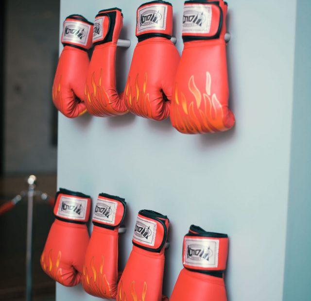 boxing wall